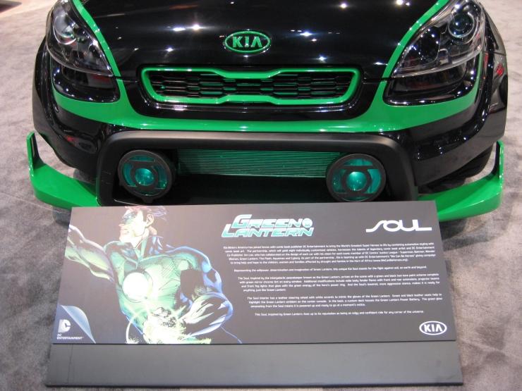 SEMA 2012 Kia DC Comics Justice League Green Lantern Soul