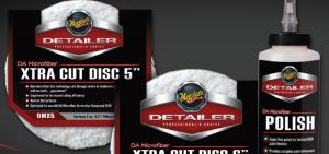 Meguiar's D30216 DA Microfiber Polish & DMX DA Microfiber Xtra Cut Discs - SEMA Show 2013