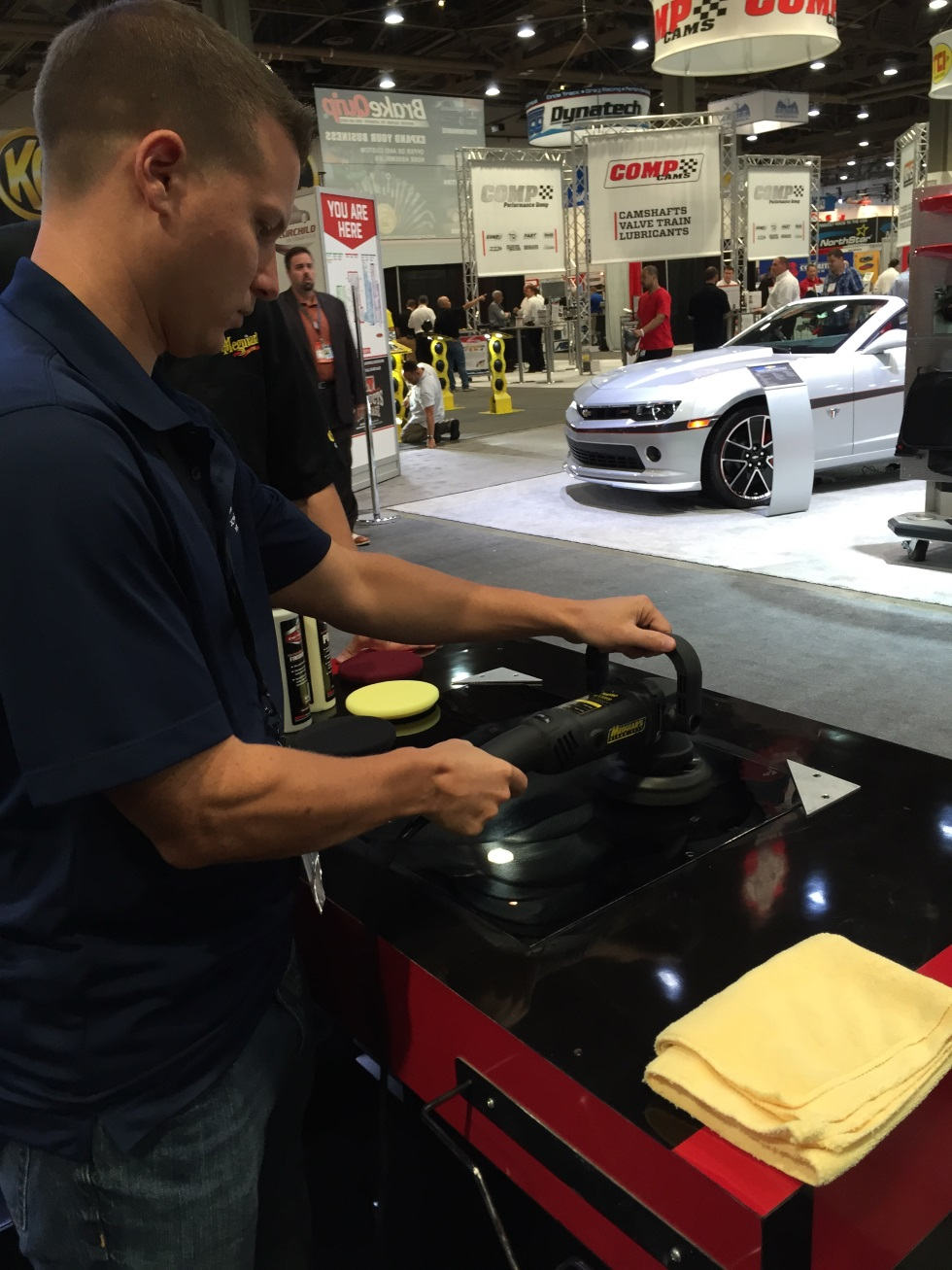 Meguiar's MT 300 Dual Action Polisher Test Drive