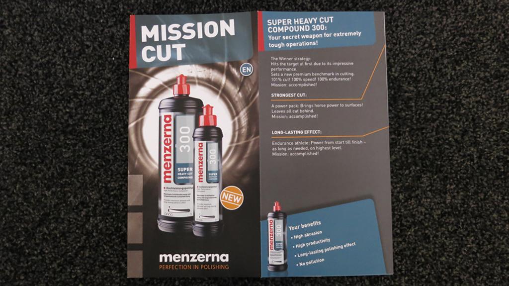 Menzerna 300 Heavy Cut Compound