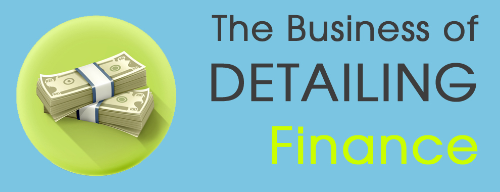 The Business of Detailing - Finance