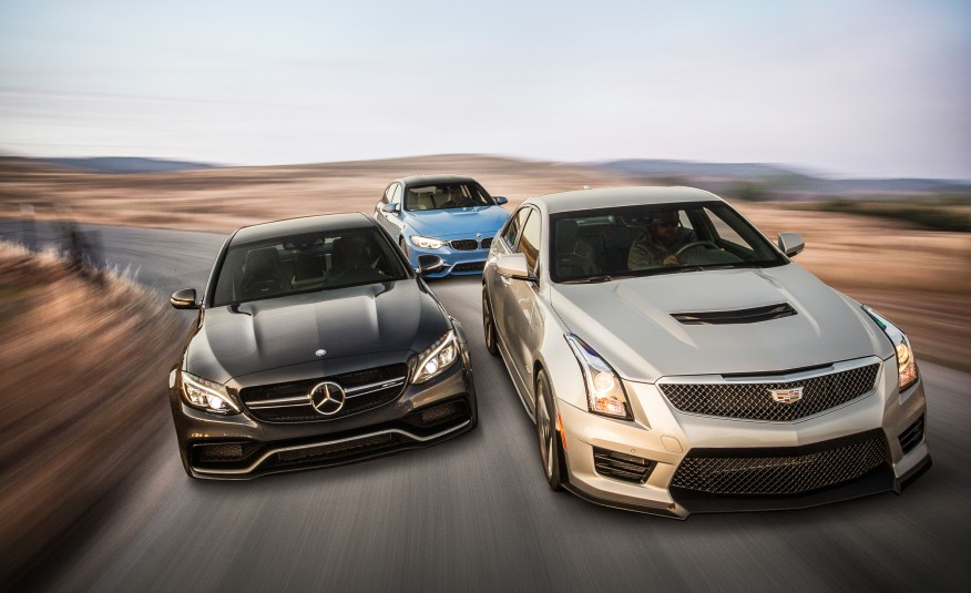 2015-BMW-M3-2015-Mercedes-AMG-C63-S-and-2016-Cadillac-ATS-V-101-876x535