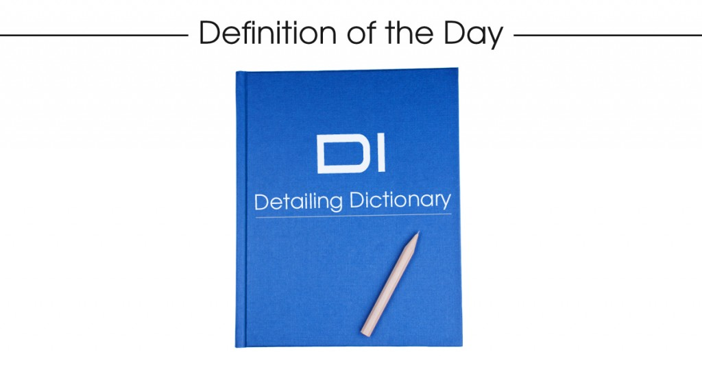 detaling_dictionary_definition_of_the_day