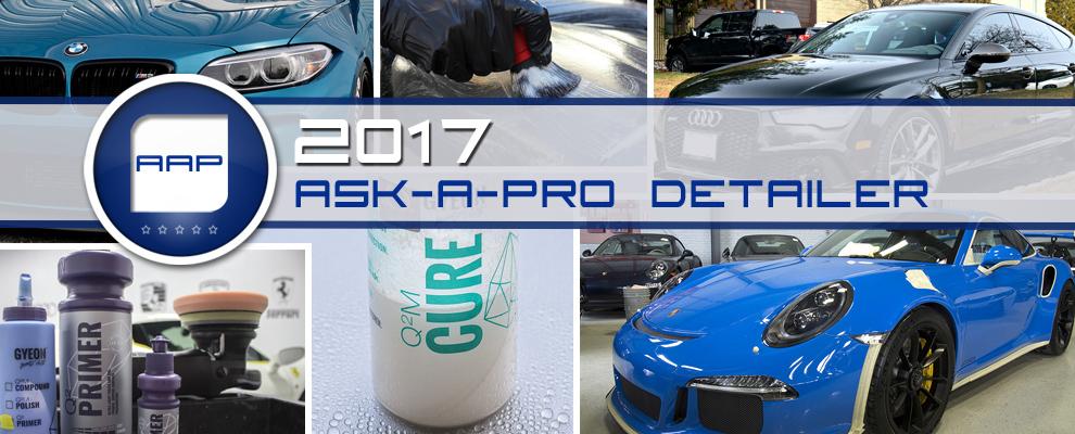 2017 Ask-a-Pro Detailer Recap