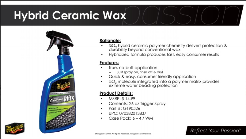 Meguiars Hybrid Ceramic Wax Junk Or Not Autodetailing
