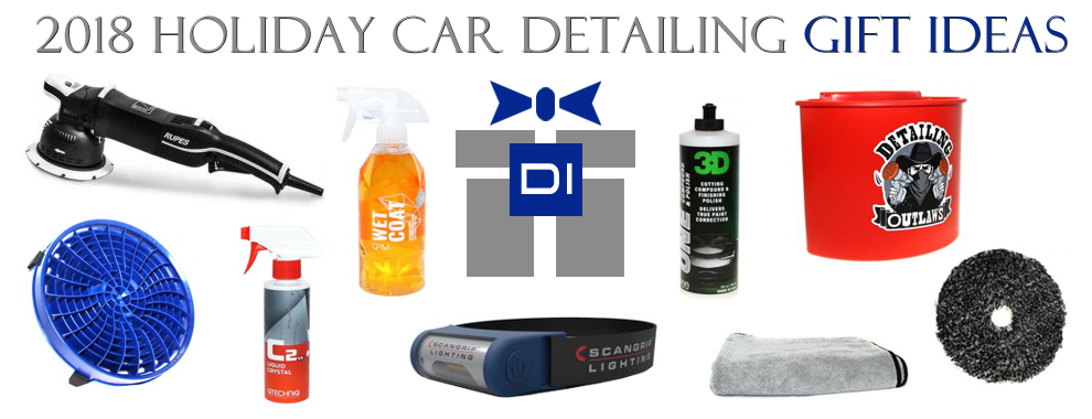 2018 Holiday Car Detailing Gift Ideas