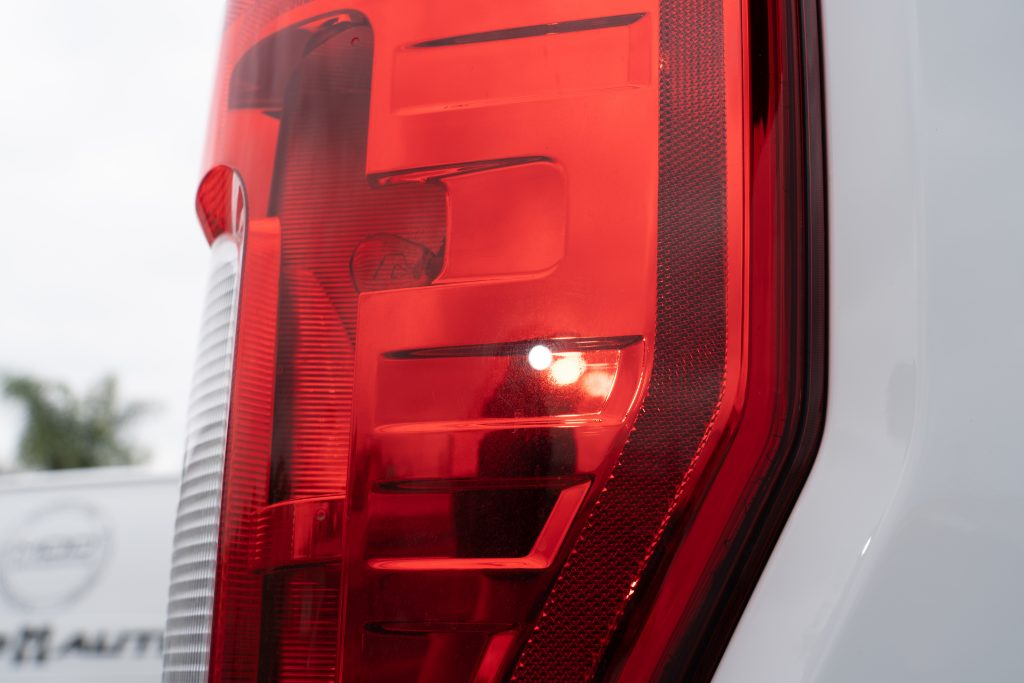 Tail Light with Swirls
