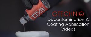 Gtechniq Decontamination & Coating Application Videos