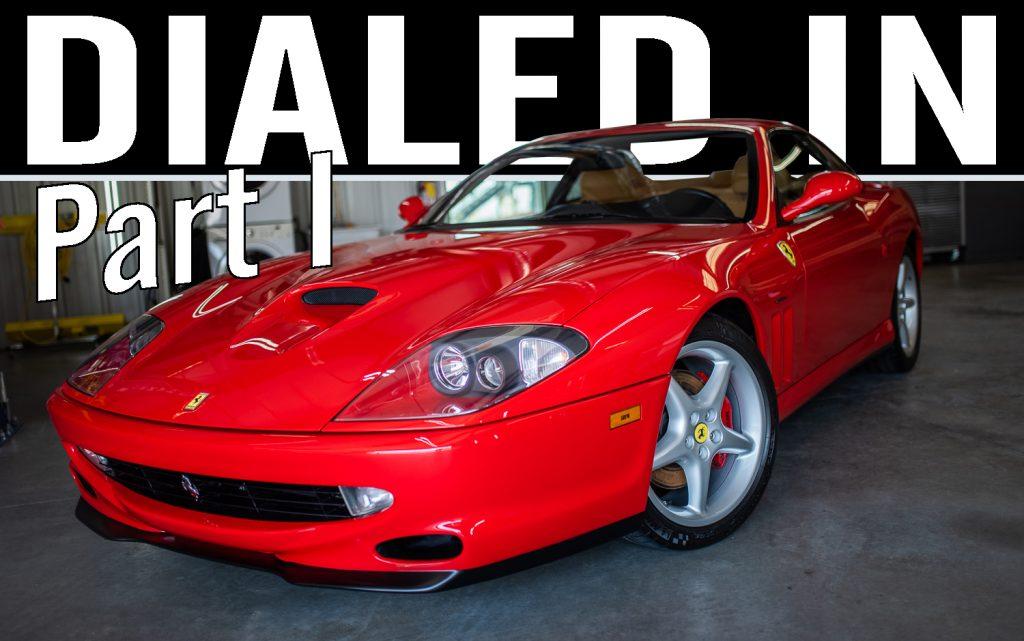 Ferrari 550 Maranello Detailed