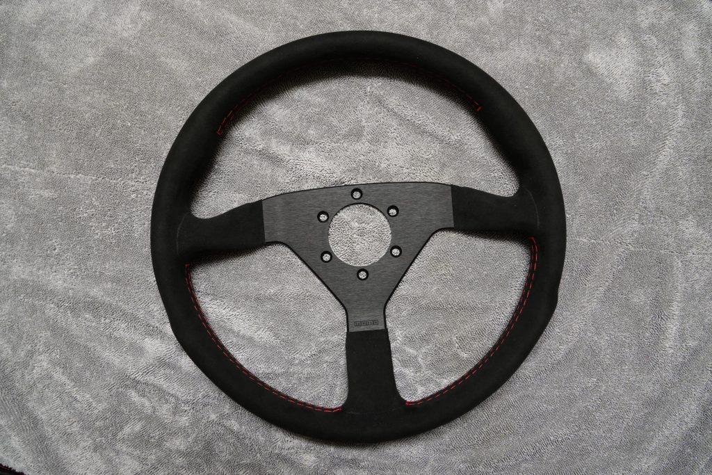 Alcantara Wheel