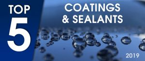 Top 5 Coatings and Sealants 2019
