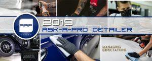 2019 Ask-a-Pro Detailer Blog Recap