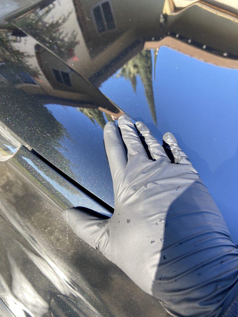 glove-on-car