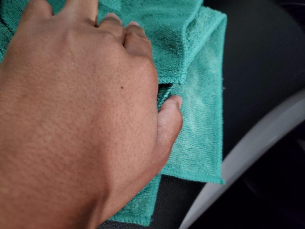 Wiping-Dash-Area