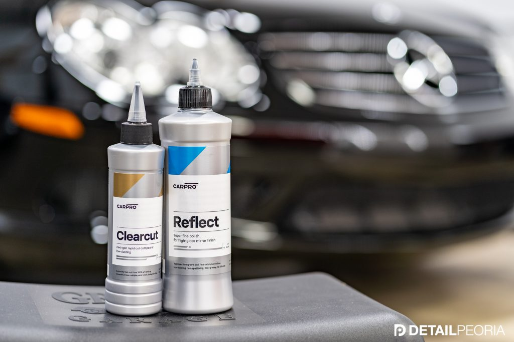 Car Pro Clearcut and Car Pro Reflect Professional Paint Correction Formulas