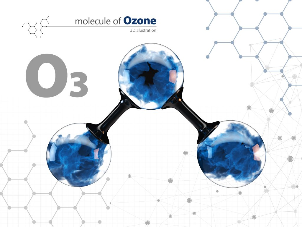 Molecule of ozone