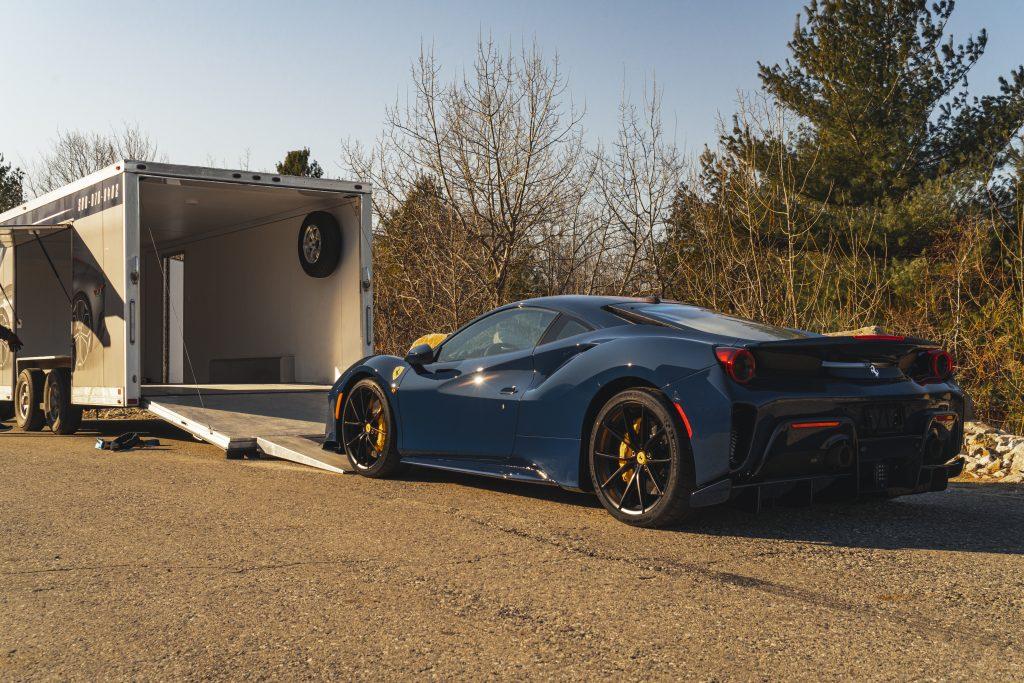 Ferrari transport