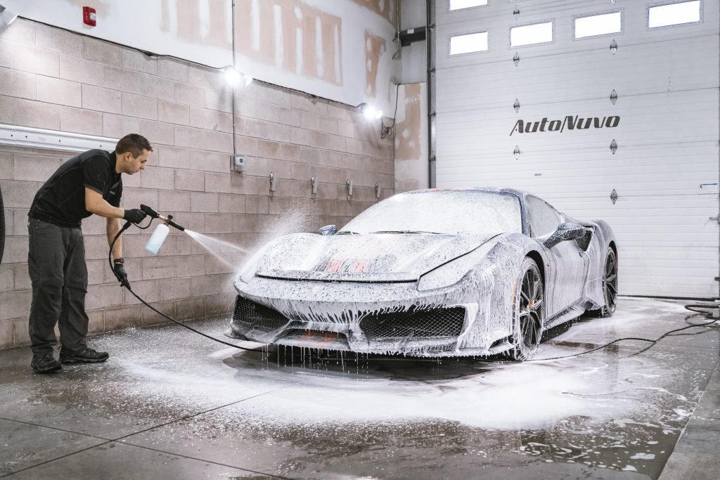 Ferrari Pista - Foam