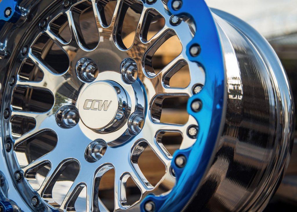 high polished wheel
