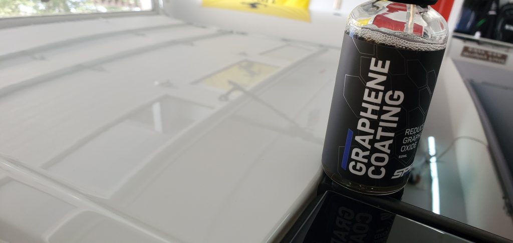 Graphene Coating by SPS