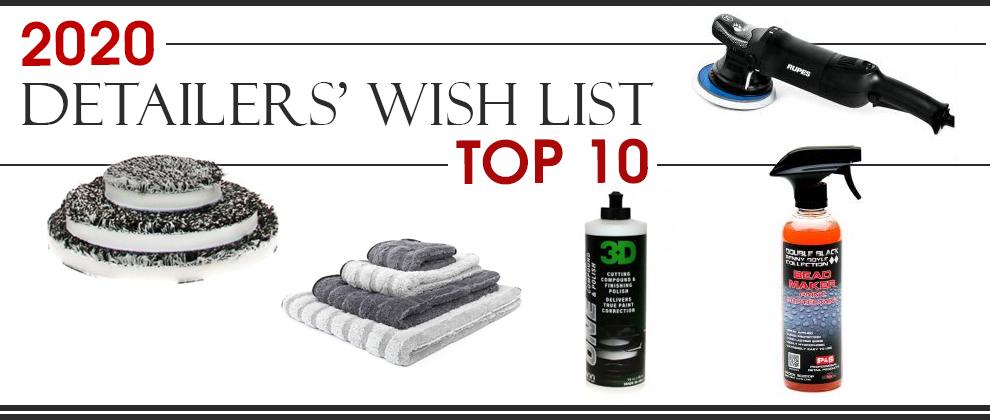 2020 Detailers' Wish List Top 10