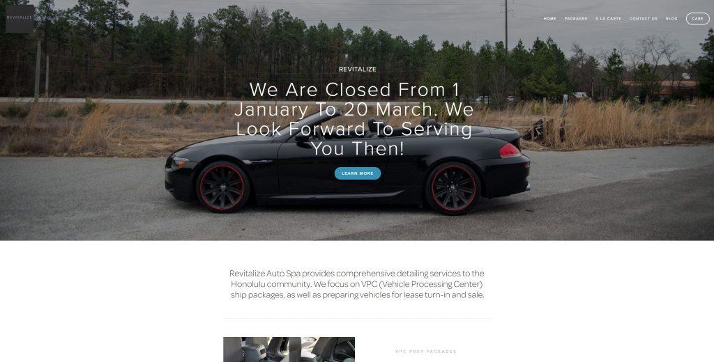 Revitalize Website 1