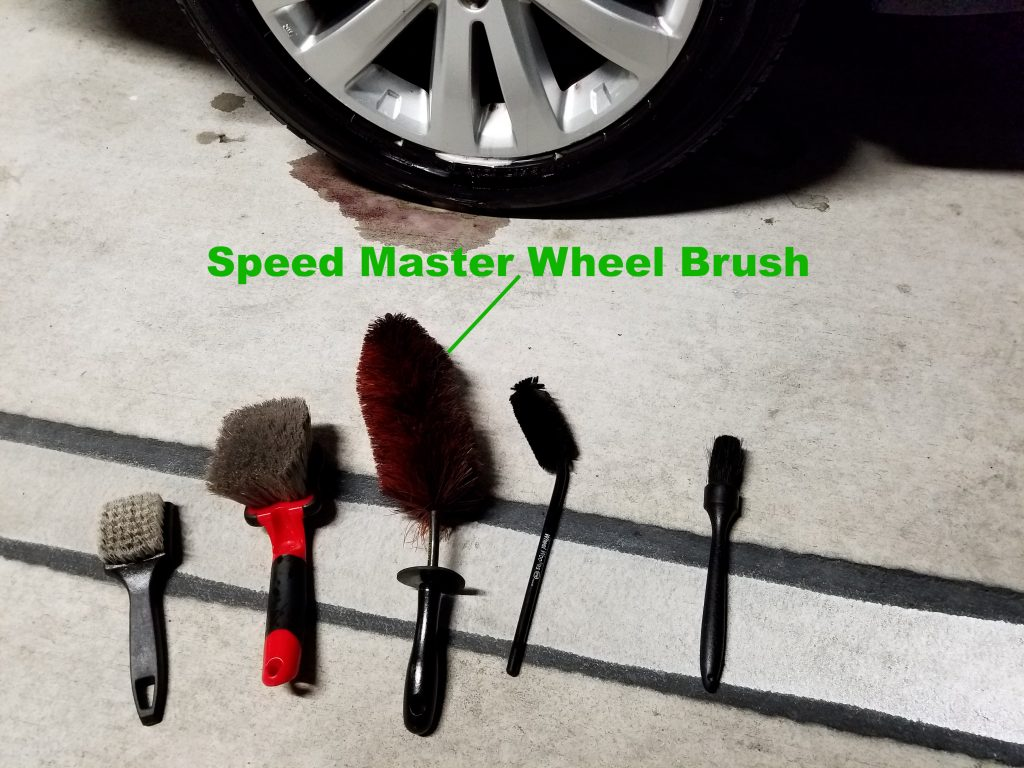 Speed Master Wheel Brush