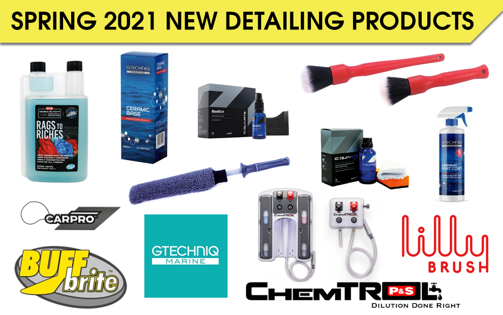 Spring 2021 New Detailing Products