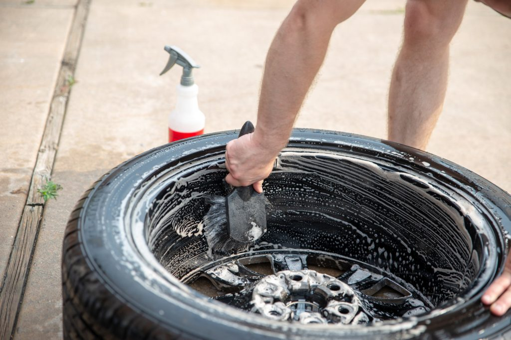 cleaning wheels