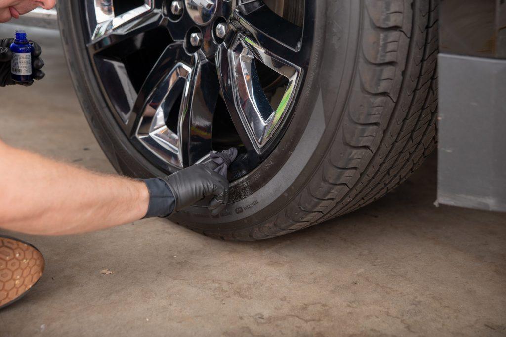 coating the wheels