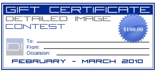 Detailed Image Gift Certificate