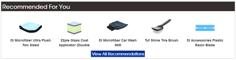 Detailed Image Recommended Products