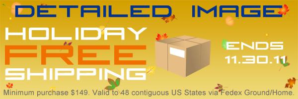 November 2011 Holiday Free Shipping