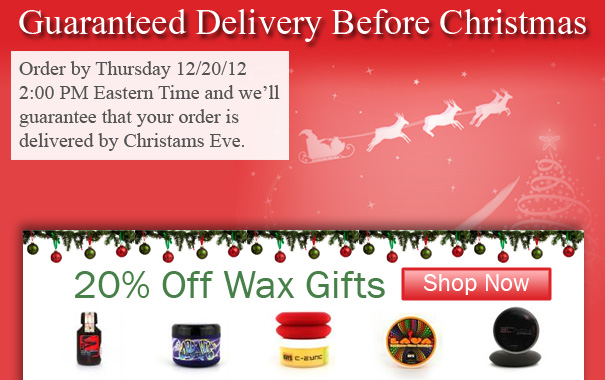 Guaranteed Delivery before Christmas