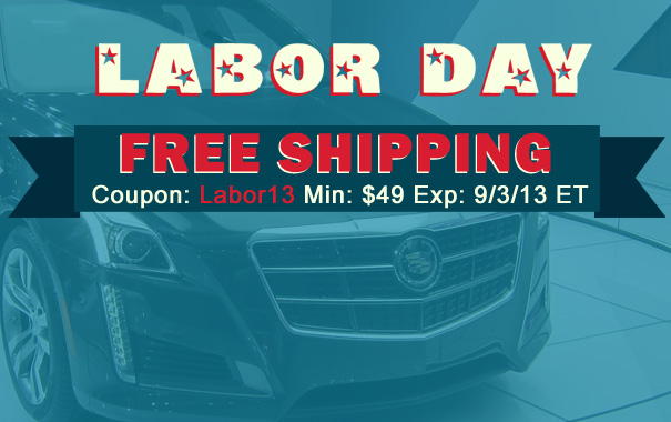 Labor Day Free Shipping - Coupon Labor13