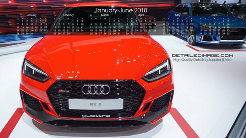 Detailed Image 2018 Wallpaper Calendar 1