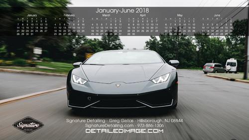 Greg Gellas Wallpaper 2018 Calendar 1