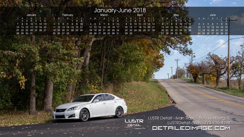 Ivan Rajic 2018 Wallpaper Calendar 1