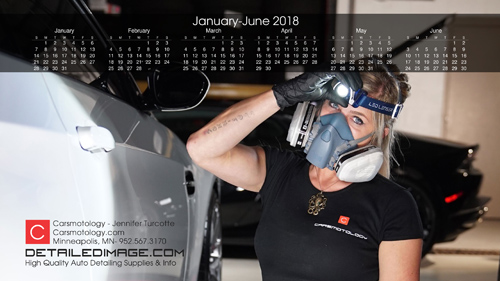 Jennifer Turcotte 2018 Wallpaper Calendar 1