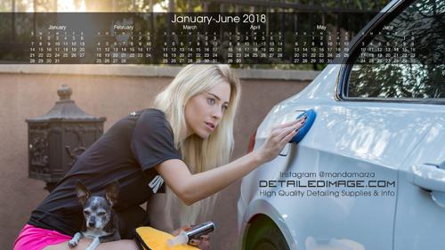 Manda 2018 Wallpaper Calendar 1