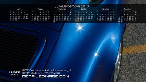 Ivan Rajic 2018 Wallpaper Calendar 2