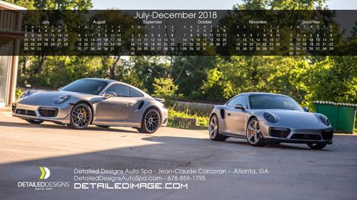 Jean-Claude Corcoran 2018 Wallpaper Calendar 2