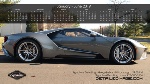 Greg Gellas Wallpaper 2019 Calendar January - June