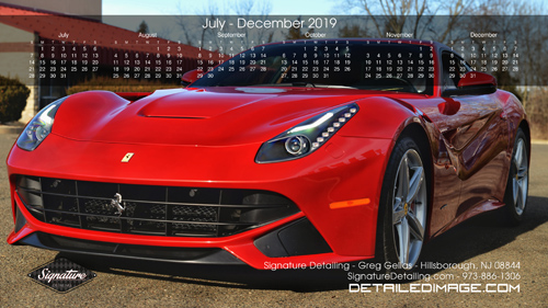 Greg Gellas Wallpaper 2019 Calendar July - December