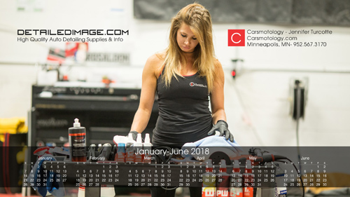 Jennifer Turcotte 2019 Wallpaper Calendar January - June