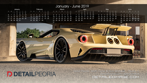 Matt Carter and Nick Whitaker Wallpaper 2019 Calendar January - June