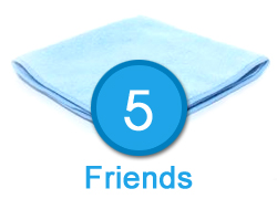 5 Friends - 2 All Purpose Towels