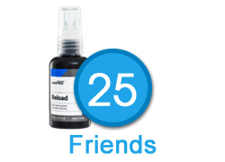 25 Friends - Dodo Juice Supernatural Wax - 30ml and Yellow Applicator Pad