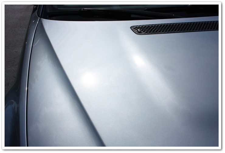 2005 BMW M3 paint after polishing by Esoteric Auto Detail