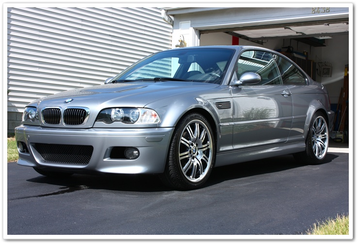 2005 BMW M3 in Silver Grey Metallic detailed by Esoteric Auto Detail with Chemical Guys E-Zyme Wax